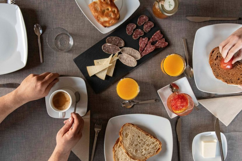 Desayuno productos locales